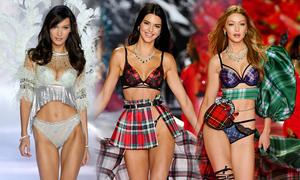 Màn catwalk ở Victoria's Secret 2018 của 3 chân dài đình đám