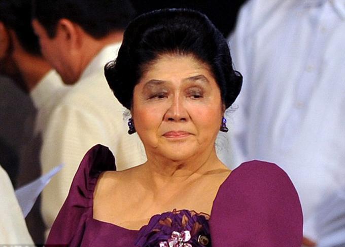 Bà Imelda Marcos (89 tuổi), vợ của Tổng thống quá cố của Philippines, Ferdinand Marcos. Ảnh: Manila Picture.