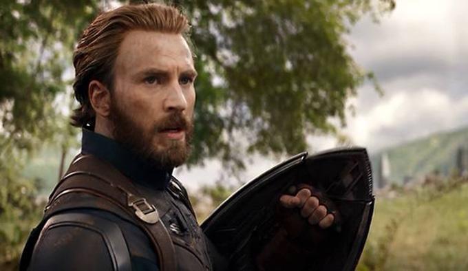 Cùng ngày hôm đó, một tai nạn khác cũng xảy ra ở tổ quay khác của Avengers: Infinity War. Giữa bối cảnh hỗn loạn của đại cảnh cận chiến tại Wakanda, Captain America bị cây thương của Dora Milaje (Marie Mouroum) đâm trúng bụng. Đây là chi tiết không có trong kịch bản, khiến tài tử Chris Evans bị thương ở dạ dày, lá lách, gan.