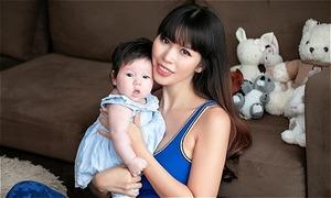 Hà Anh: 'Làm mẹ mới thấy phụ nữ thật phi thường'