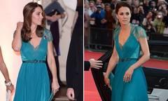 Kate mặc váy từ 6 năm trước cùng chồng dự sự kiện