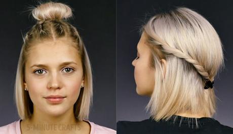 4 kiểu tóc đơn giản cho nàng tóc ngắn dạo phố cuối tuần