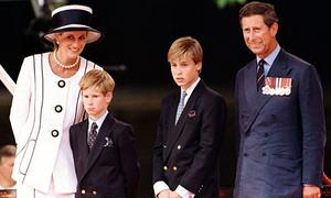 Phản ứng của William và Harry khi nghe tin bố mẹ ly hôn