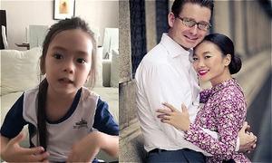 Con gái Đoan Trang thuyết trình bằng tiếng Anh