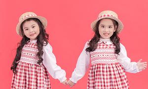 Những kiểu váy hoa tôn nét đáng yêu cho bé gái