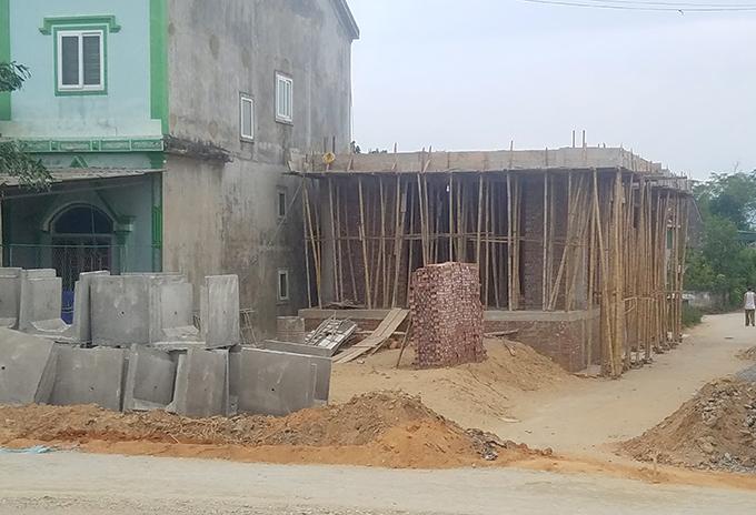 Căn nhà được ông Quang xây cho con trai. Ảnh: Hùng Lê