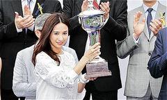 Á hậu Hong Kong vực dậy sau nỗi đau chồng đột tử