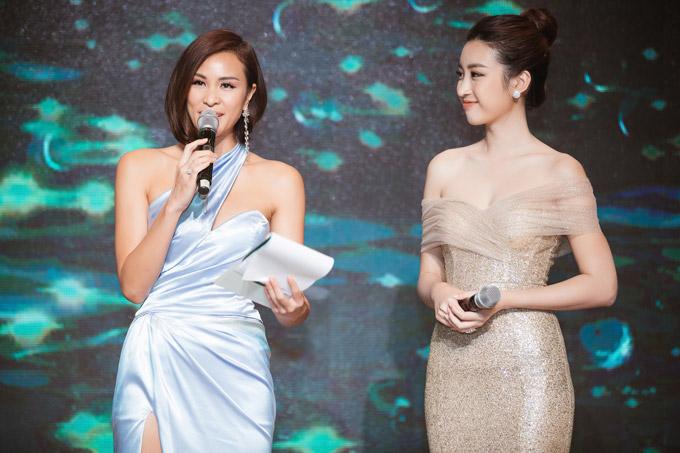 MC Phương Mai đọ dáng với Đỗ Mỹ Linh tại event - 6