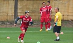 Tuyển Việt Nam tập bài 'lạ' chuẩn bị cho trận gặp Malaysia