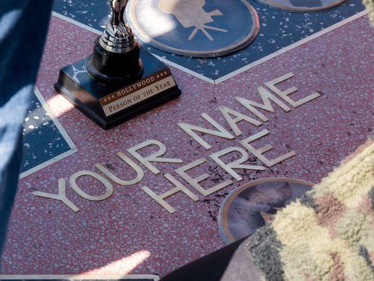 Ngôi sao và bức tượng Oscar dành riêng cho khách du lịch.