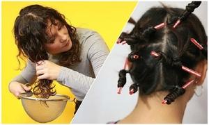 2 mẹo uốn tóc xoăn với dụng cụ có sẵn trong bếp