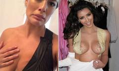 Mẫu béo dở khóc dở cười khi học chiêu 'nâng ngực' của Kim