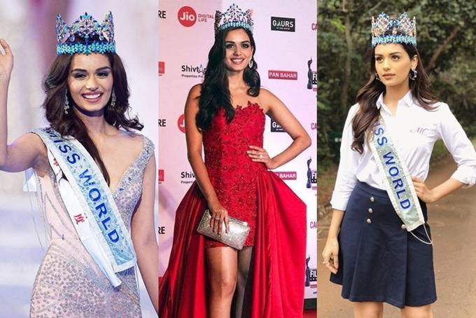 Vương miện Miss World có hai phiên bản. Trong đêm chung kết, tân hoa hậu được trao chiếc vương miện gốc có trị giá 2 triệu USD, khoảng45 tỷ đồng. Sau đó, hoa hậu sử dụng phiên bản