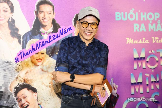 Nghệ sĩ Thành Lộc góp mặt trong MV mới của Mr Đàm.