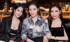 Diệp Lâm Anh 'trốn' ở cữ đi sinh nhật Kỳ Duyên