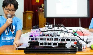 Việt Nam có 16 đội dự cuộc thi tài năng robot ở Thái Lan