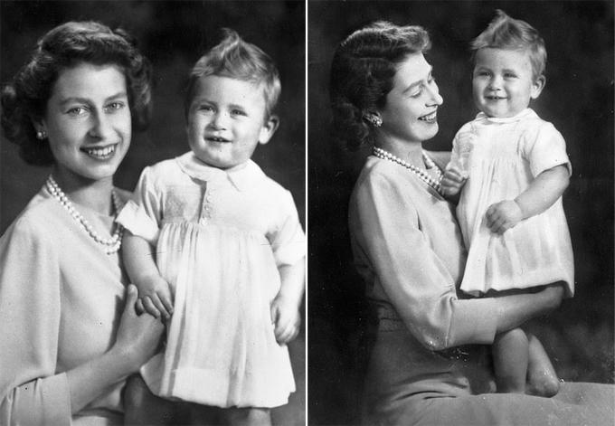 Album ảnh gia đình của Thái tử Charles