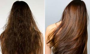 Công thức mặt nạ 'vàng' giúp phục hồi tóc hư tổn sau một tháng