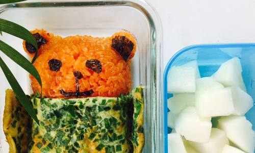 Những hộp cơm trưa mẹ chỉ mất 30 phút để nấu cho con