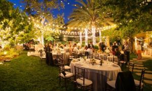 8 sai lầm phổ biến khi tổ chức đám cưới ở sân vườn