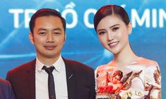 Nữ hoàng sắc đẹp Ngọc Duyên đi sự kiện cùng chồng đại gia