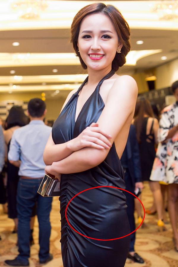 Hoa hậu Mai Phương Thúy từng mất điểm do đường viền quần chíp gồ ghề.