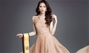 Quỳnh Hoa trở thành gương mặt đại sứ cho cuộc thi sắc đẹp