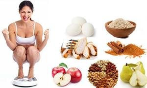 9 thực phẩm giúp tiêu đốt mỡ thừa hiệu quả