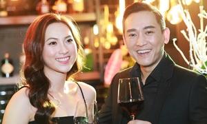 Hứa Vỹ Văn phong độ sánh vai diễn viên Phương Anh Đào