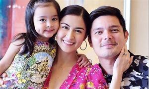 'Mỹ nhân đẹp nhất Philippines' dạy con gái chuẩn bị làm chị