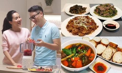 Vợ ca sĩ Hoàng Bách lấy chồng 2 năm mới biết nấu ăn