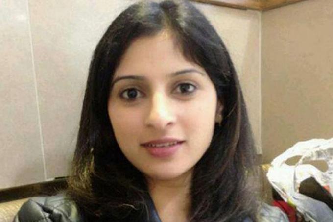 Sana Muhammad thiệt mạng,để lại chồng và 6 đứa con. Ảnh: Facebook.