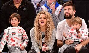 Shakira ăn mừng như Guardiola sau pha ghi bàn của con trai