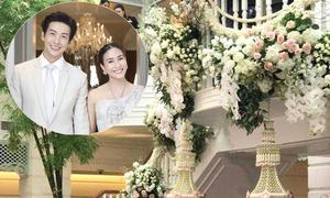 Tiệc cưới sắc trắng của cặp sao 'chị - em' nổi tiếng Thái Lan