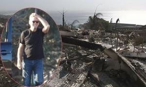 Pierce Brosnan đau lòng nhìn biệt thự 8 triệu USD bị thiêu rụi