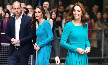 Kate mặc váy cũ lên sóng truyền hình