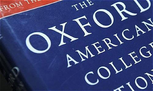 Từ điển Oxford ra đời năm 1884. Ảnh:CNN.