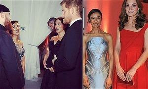 Vợ chồng Harry và William 'bí mật hẹn hò' với các ngôi sao