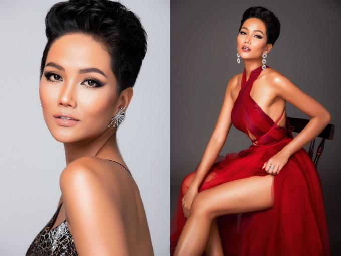 HHen Niê là đại diện Việt Nam tham dự cuộc thi Miss Universe 2018. So với nhiều đàn chị trước đó, HHen sở hữu vẻ ngoài khác biệt với làn da nâu, mái tóc tém cá tính.