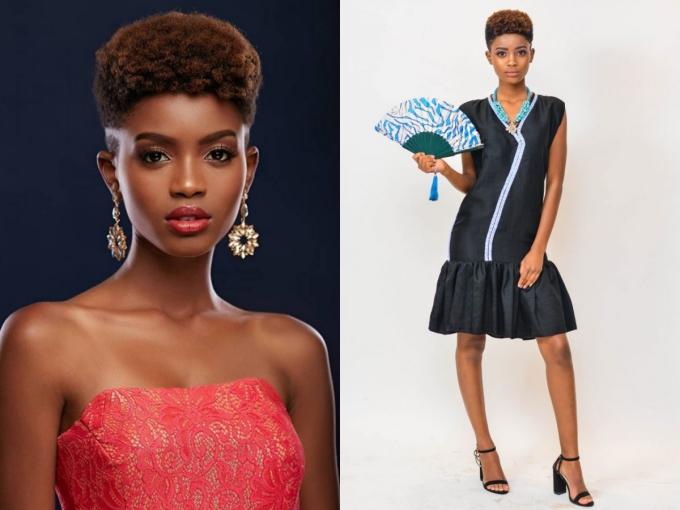 Wabaiya Kariuki năm nay 22 tuổi, cao 1,65 m và vừa đăng quang Hoa hậu Hoàn vũ Kenya vào đầu tháng 11. Cô sẽ đại diện quốc gia châu Phi này tại Miss Universe 2018 và là hai thí sinh hiếm hoi -với HHen Niê - sở hữu mái tóc cá tính.