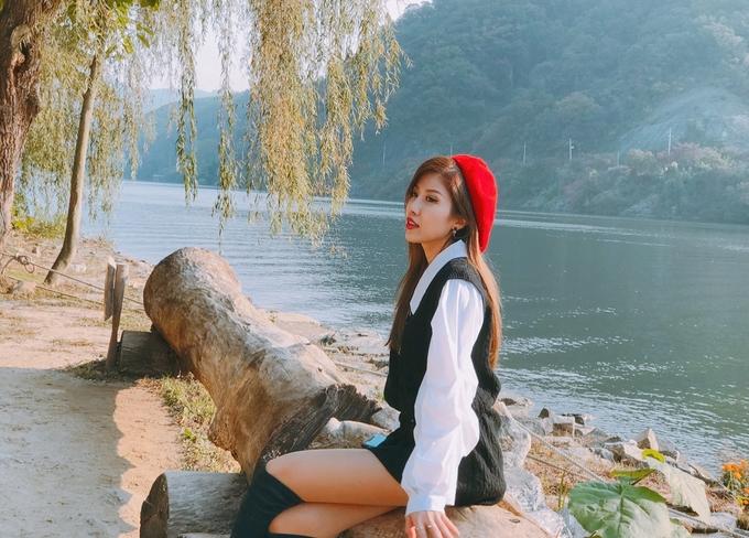 Trang Pháp mê mẩn mùa thu và ẩm thực Hàn Quốc
