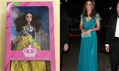 Búp bê Kate Middleton giả gây ung thư bị tịch thu ở Anh