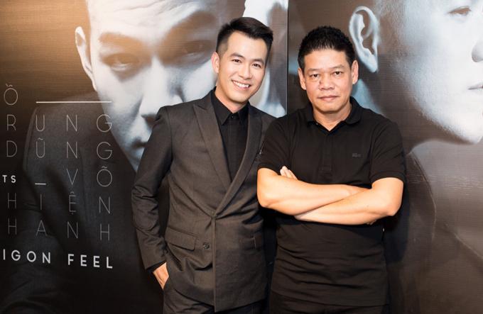Ca sĩ Hồ Trung Dũng và nhạc sĩ Võ Thiện Thanh lần đầu làm album chung.