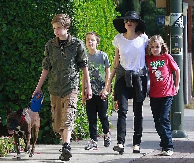 Vào tháng sau, Jolie sẽ ra tòa cùng Brad Pitt để phân xử quyền nuôi con và phân chia tài sản sau ly hôn. Cặp đôi được cho là không ký hợp đồng tiền hôn nhân khi làm đám cưới vào năm 2014.