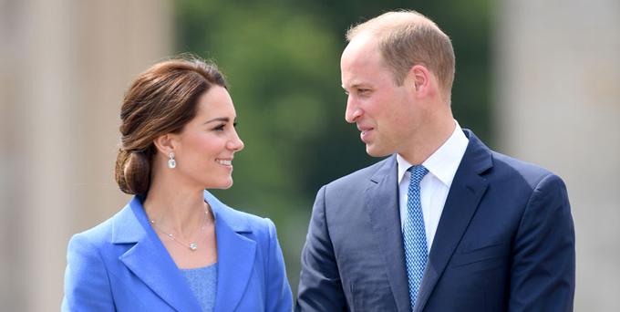 William và Kate trong một sự kiện vào tháng 11/2017. Ảnh: PA.