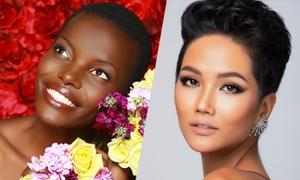 Các thí sinh tóc tém, đầu trọc ở Miss Universe