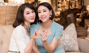 MC Thanh Mai, Hà Kiều Anh đọ nhan sắc ở sự kiện