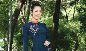 Hoa - điểm nhấn ấn tượng trong BST áo dài mới của Thái Tuấn