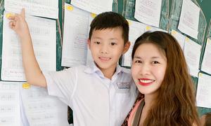 Vợ chồng Đăng Khôi 'choáng' khi con trai đạt giải nhất thi viết