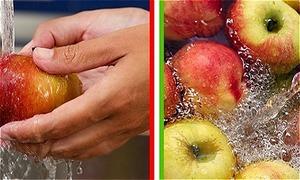 8 loại thực phẩm chúng ta thường rửa sai cách